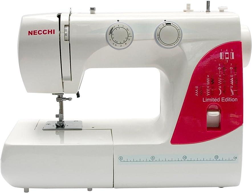 Necchi N216 - Máquina de Coser (Rojo, Blanco, Máquina de Coser ...