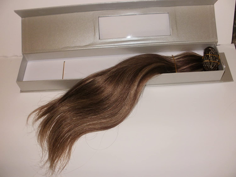 Amazon Herstyler Elite Extension 16 Long Human Hair Auburn