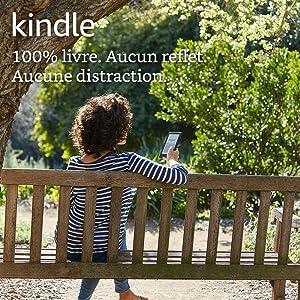 """Kindle, écran tactile 6"""" (15,2 cm), sans éclairage intégré, Wi-Fi (Noir) - Avec Offres spéciales - Génération précédente (8ème)"""