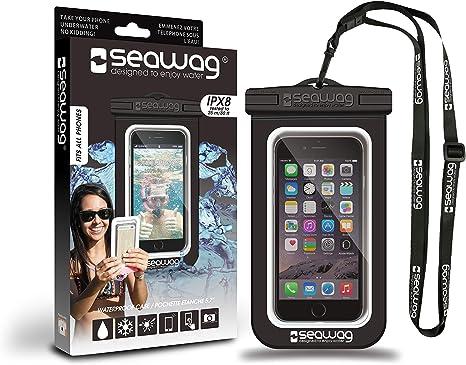 SEAWAG Pochette Waterproof pour Smartphone: Amazon.es: Electrónica