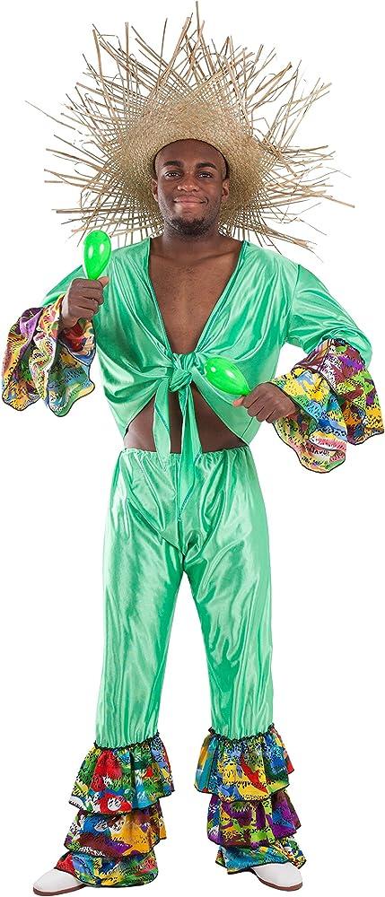 Fycar Disfraz de Rumbero - Hombre, L: Amazon.es: Ropa y accesorios