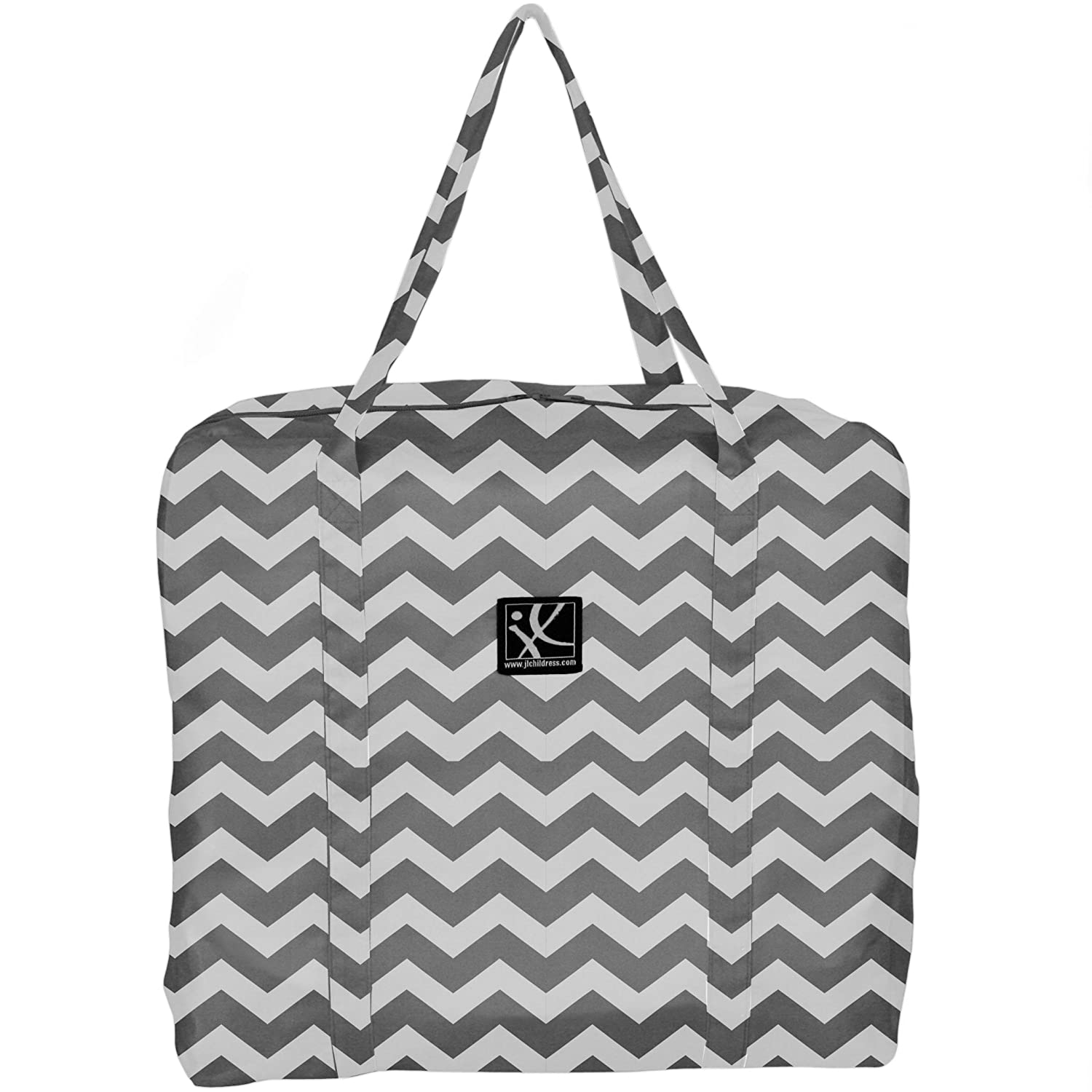 J.L. Childress Booster Go-Go Travel Bag for Backless Seats, Chevron 2013