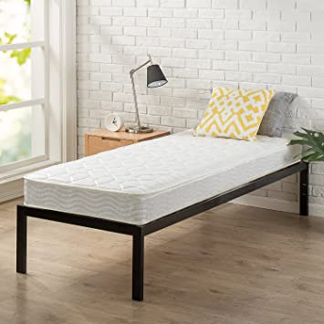 Amazon Com Zinus 6 Inch Spring Mattress Narrow Twin Cot Size Rv