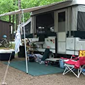 Amazon Com Camco Durable Reversible Rv Camper Awning Mat
