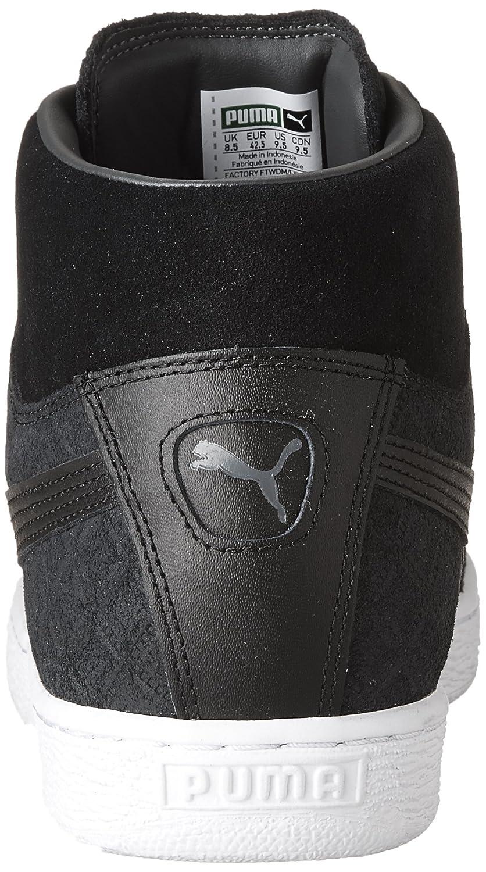 e43bf4d808 PUMA Men's Suede Classic Mid Quilt Sneaker