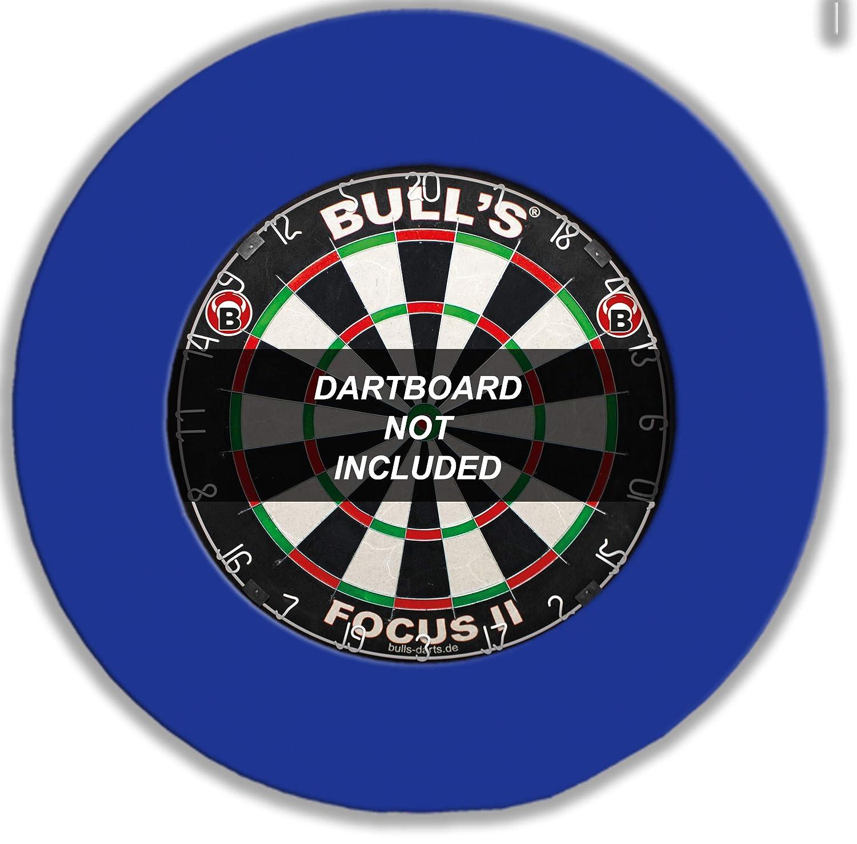BULL'S Pro Dartboard Surround / Catchring / Auffangring / Wandschutz, blau