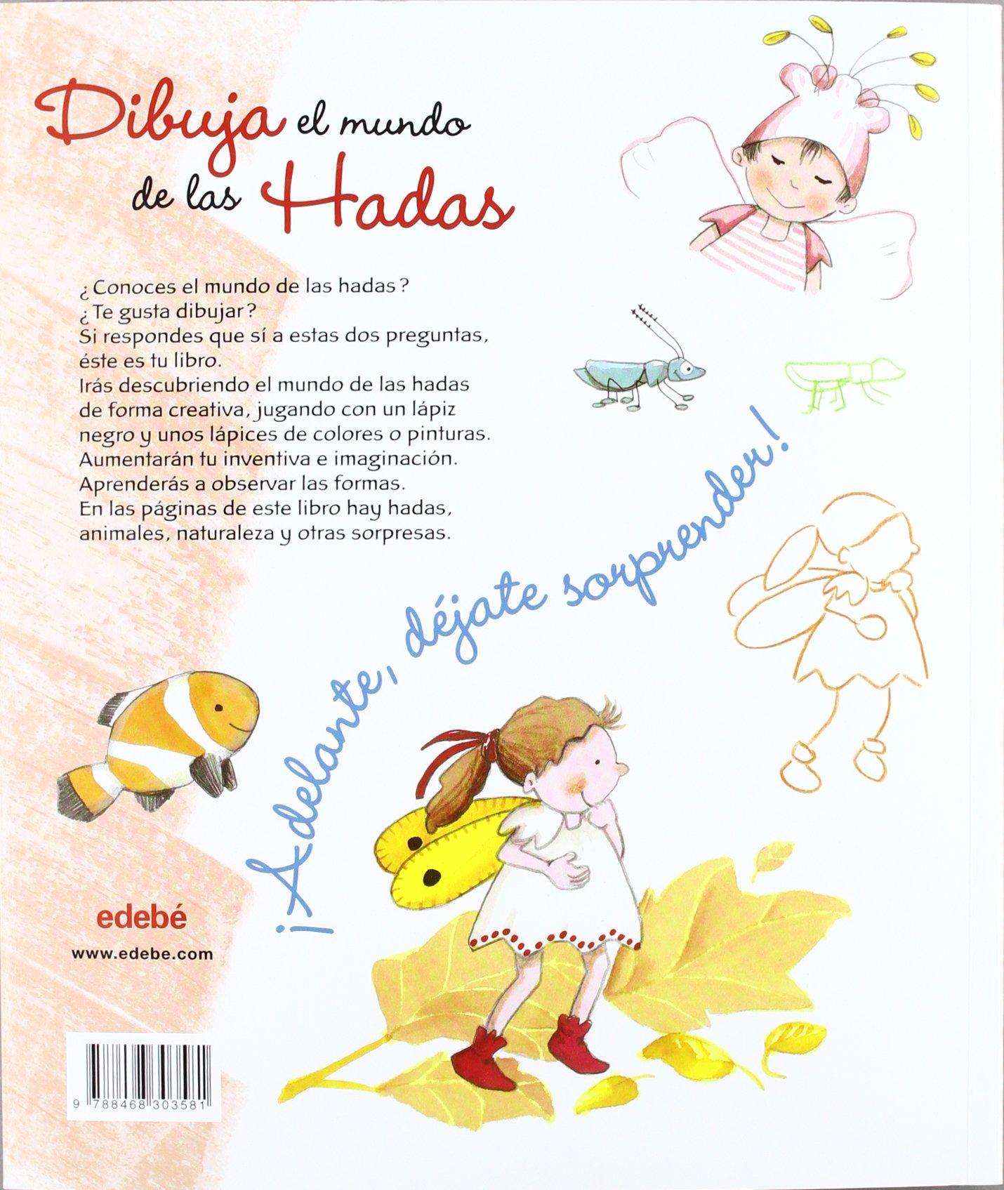 Amazonin Buy Dibuja El Mundo De Las Hadas Book Online At Low