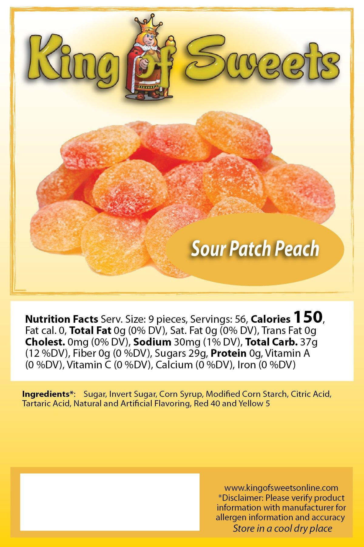Sour Patch Peach (3 x 5lb bags)