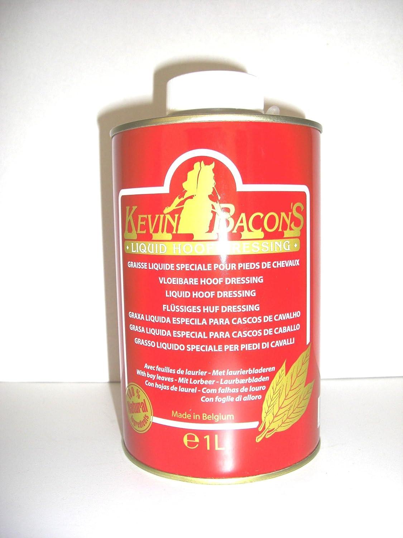 Kevin Bacon 's Hoof Dressing Liquid huföl con lorbeeröl con pincel