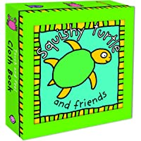 Squishy Turtle Cloth Book (Touch and Feel Cloth Book)