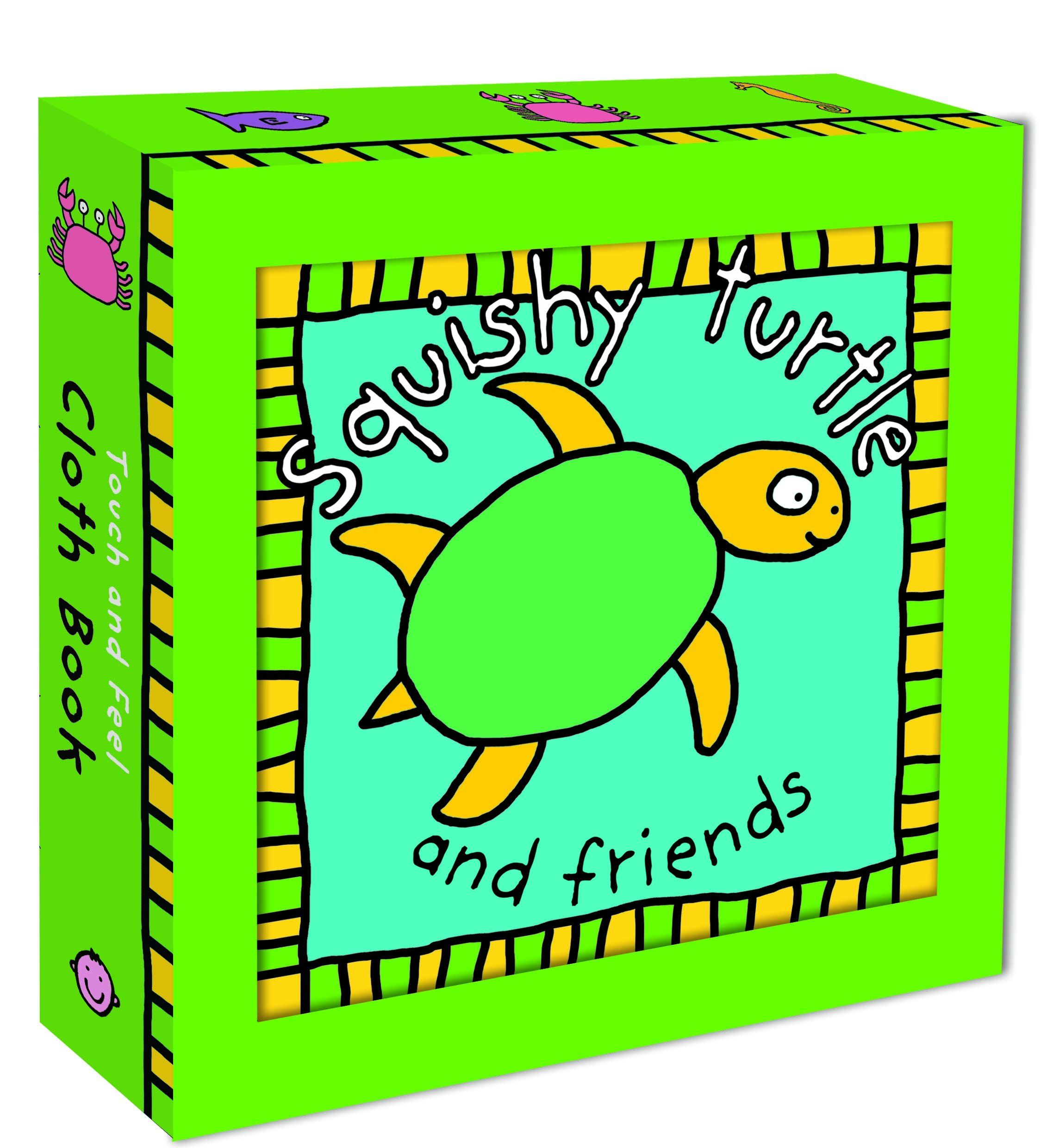 Squishy Turtle Cloth Touch Books