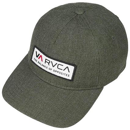 RVCA Gorra Snapback VA de Beisbol (Talla única - Verde Oliva ...