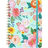 """2021-2022 Planner - Weekly & Monthly Planner with Monthly Tabs, July 2021 - June 2022, 6.3"""" x 8.4"""", Flexible Floral Hardcover"""