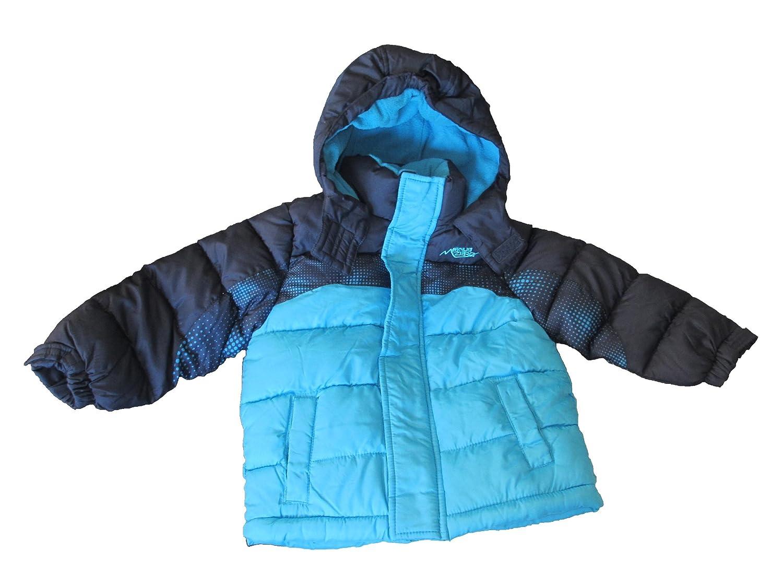 88c4af45510f Amazon.com  Boy s Blue Minus Zero Winter Coat with Hood