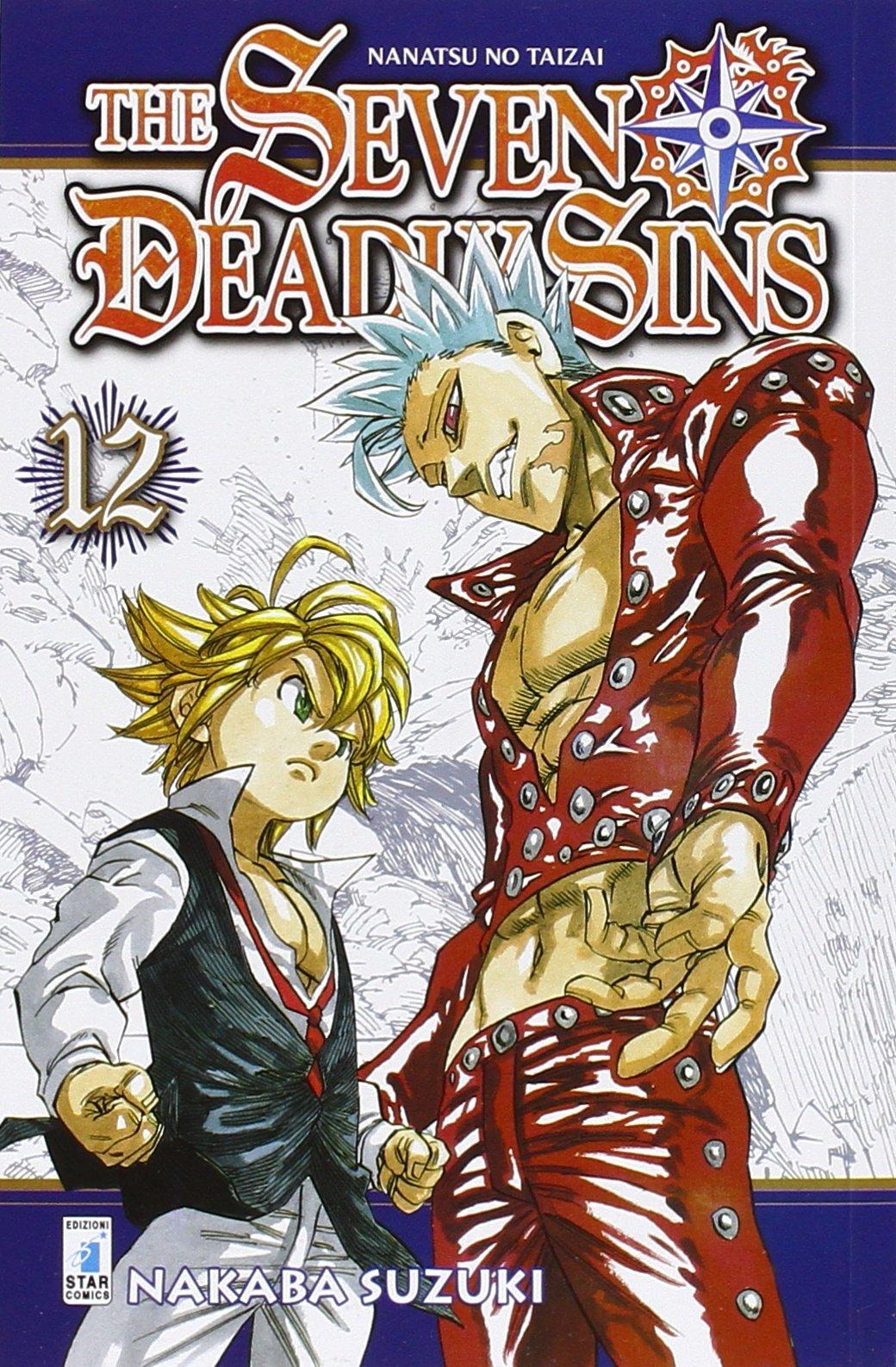 The seven deadly sins: 12 Copertina flessibile – 8 ago 2016 Nakaba Suzuki M. Riminucci Star Comics 8869206343