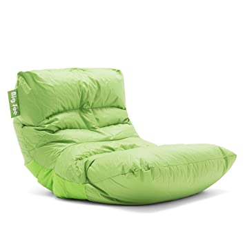 Phenomenal Big Joe Roma Bean Bag Chair Spicy Lime Inzonedesignstudio Interior Chair Design Inzonedesignstudiocom