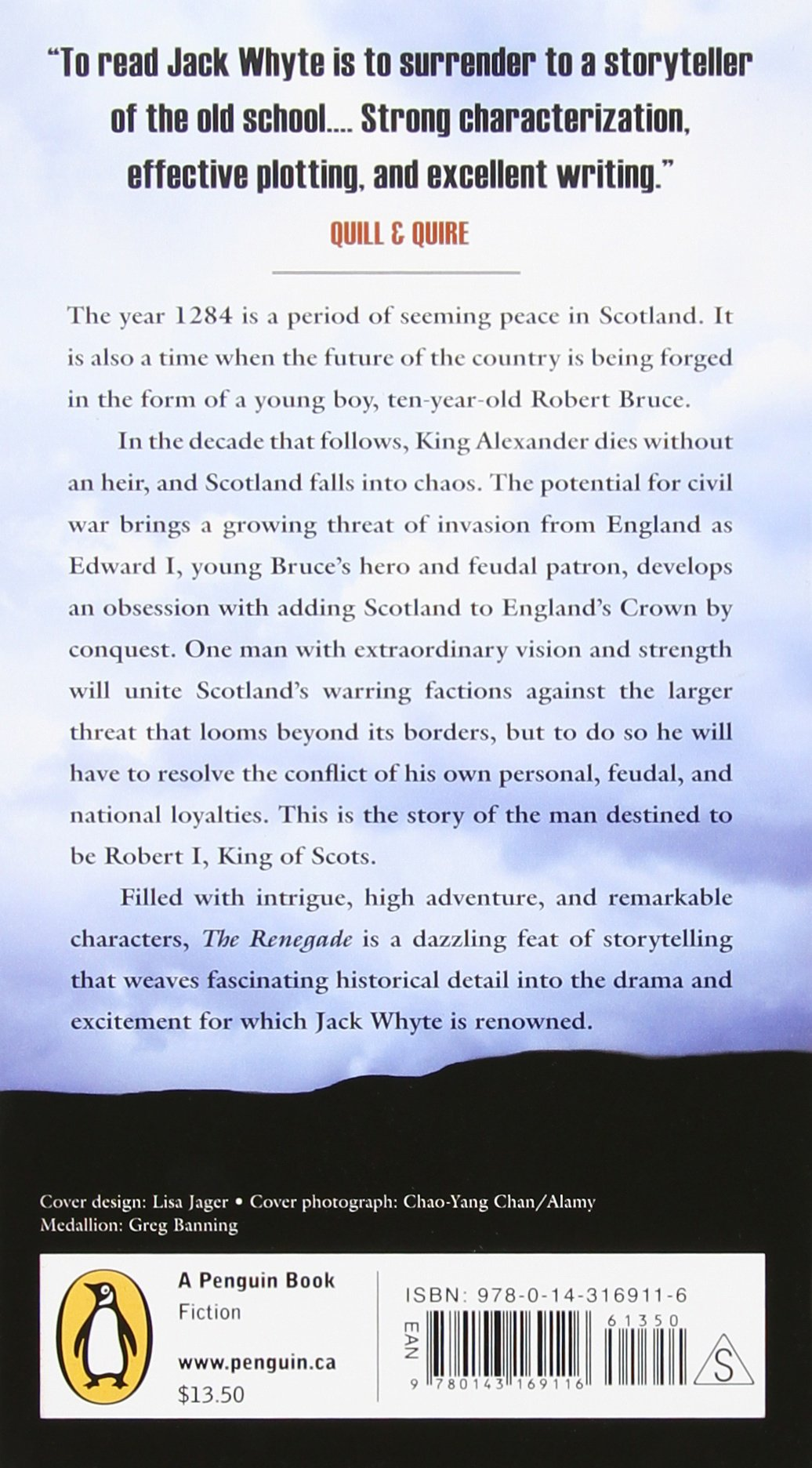 The Renegade: A Tale Of Robert The Bruce: Jack Whyte: 9780143169116:  Amazon: Books