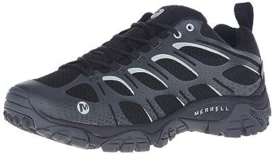 Mens Moab Edge Waterproof Low Rise Hiking Shoes, US Merrell