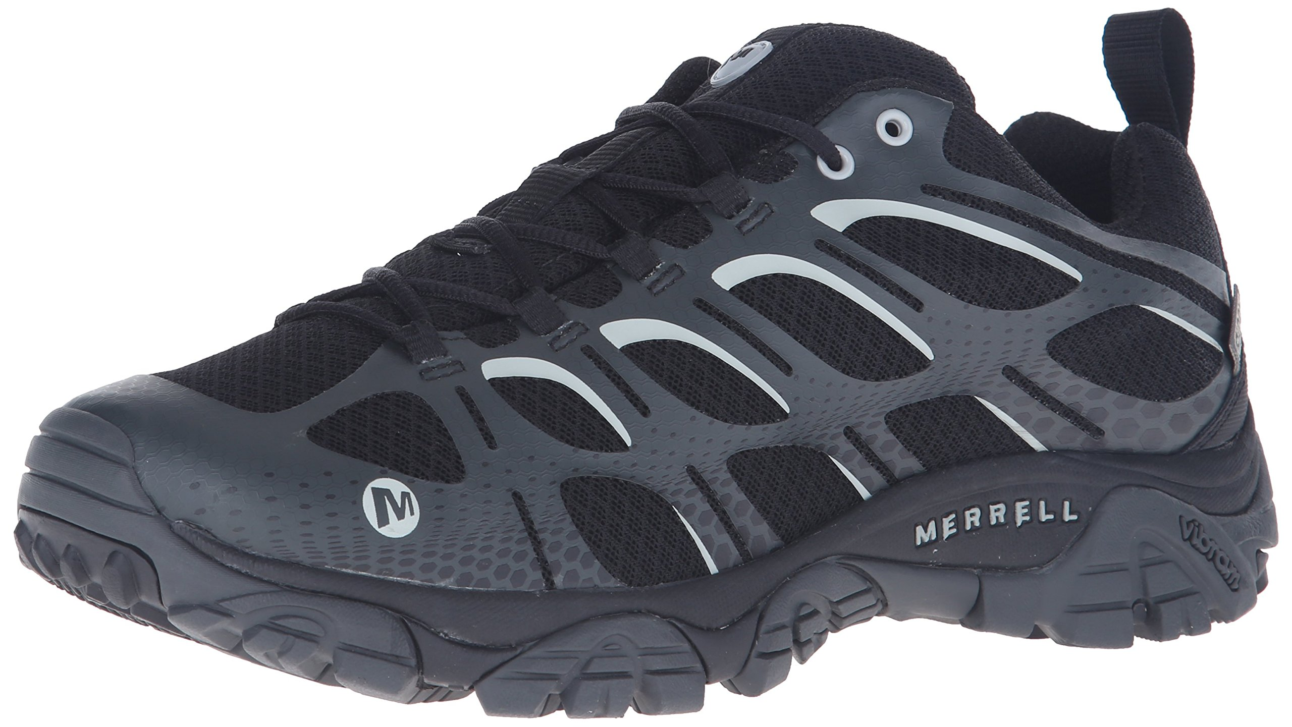 Merrell Men's Moab Edge Waterproof Hiking Shoe, Black, 13 M US