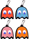 Paladone Pac-Man Ghost Key Covers (4-Pack)