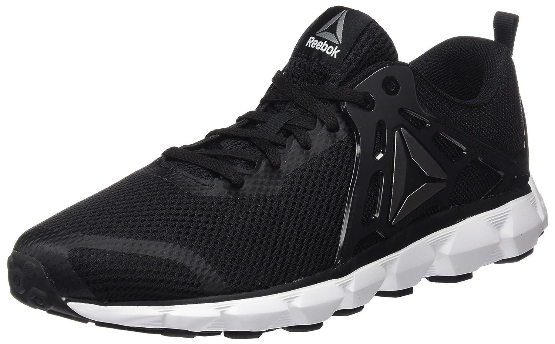 Reebok Hexaffect Run 5.0, Zapatillas de Running para Hombre 42 EU|Negro (Black/White/Pewter)
