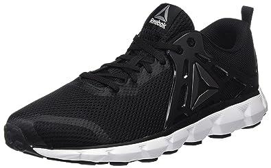 Reebok Hexaffect Run 5.0, Chaussures de Running Entrainement Homme, Noir (Black/White/Pewter), 44.5 EU