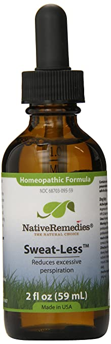 Native Remedies Sweat Less 59 Ml Bottle