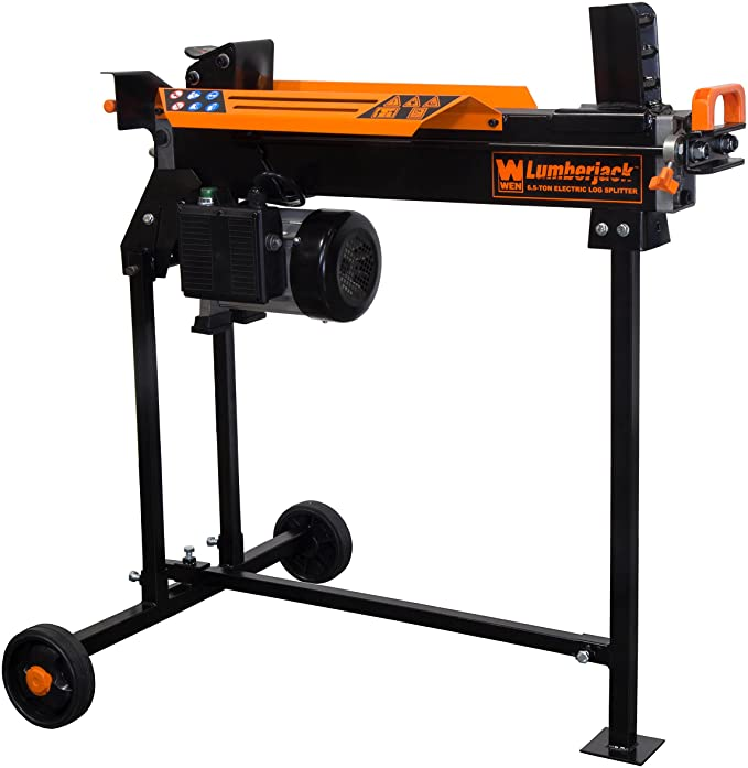 WEN 56207 6.5-Ton Electric Log Splitter - Best With a Stand
