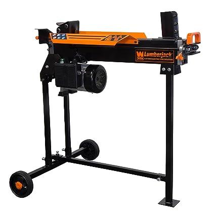 b20240a1daa1 Amazon.com : WEN 56207 6.5-Ton Electric Log Splitter with Stand : Garden &  Outdoor