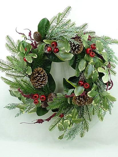 Amazon Com Jmb Christmas Garland With Pomegranates Pine