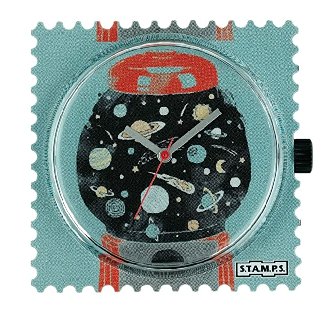 Stamps - Reloj Esfera Space Machine - S.T.A.M.P.S. Reloj 104653: Amazon.es: Relojes