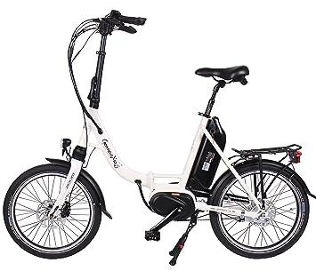 Premium Germ anxia eléctrico de bicicleta plegable mobile Master CM 8 G Buje Shimano con contrapedal