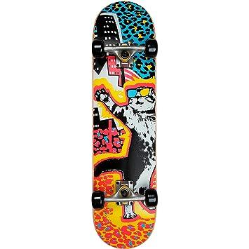 AR 3101-15 skate MY AREA Kool Katz Juego de ruedas para skate street, diseño de graffiti, multicolor: Amazon.es: Deportes y aire libre