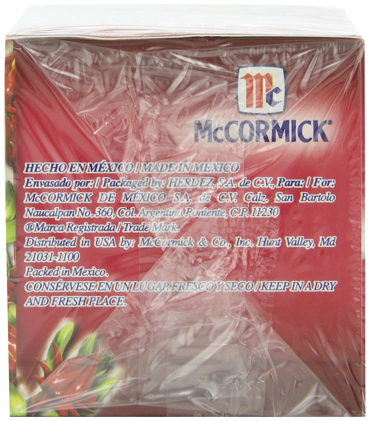 McCormick Jamaica, Hibiscus, 25-Count (Pack of 6)