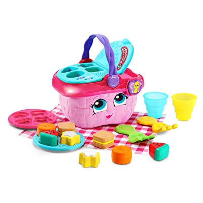 LeapFrog Shapes & Sharing Picnic Basket, Pink: Toys & Games