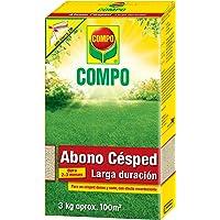 COMPO Abono césped larga duración de hasta 2-3 meses, para 100 m², 3 kg, 1023902011