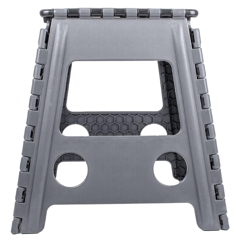 Trittstufe Kunststoff klappbar Anti Rutsch 39,5 cm H/öhe 120 Kg belastbar f/ür Wohnwagen und Wohnmobil