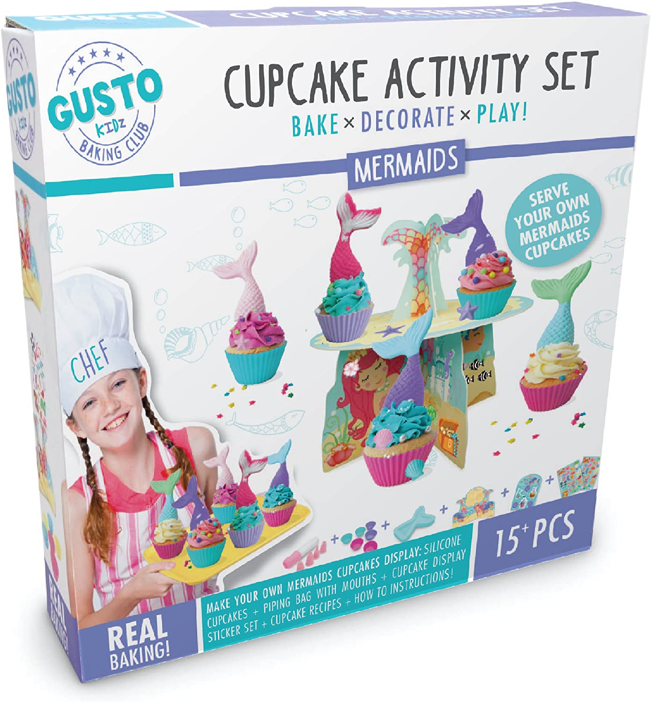 Mermaid Cupcake Boxes