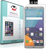 Mobonic Amazing H+ Flexible Anti Explosion Tempered Glass Screen Protector Shield For LG G6 { 0.3mm 2.5D Curved Ultra HD Clear Proper Camera and Sensor Cut }