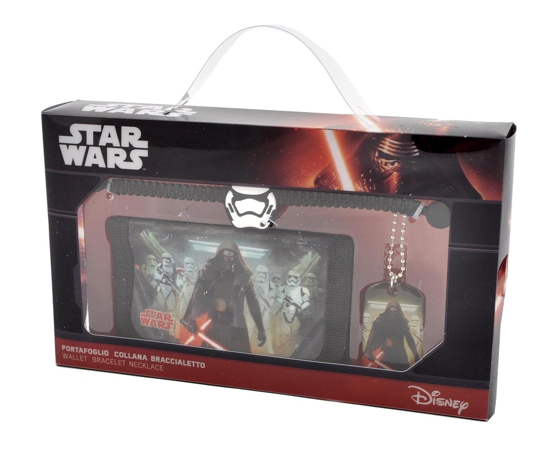 Star Wars D93160 - Portafoglio con Collana e Bracciale Gift Kids, Multicolore Coriex D93160 MC