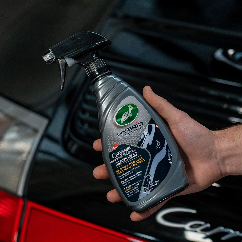 Turtle Wax 53447 Hybrid Solutions Ceramic Acrylic Black Spray Wax