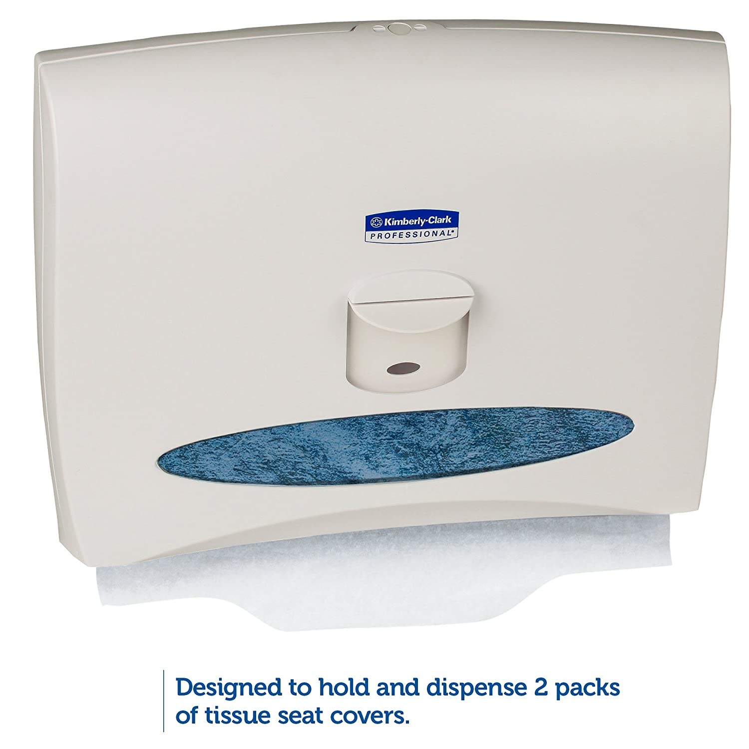 Kimberly Clark Professional 09505 Personal Seats Toilet Seat Cover Dispenser 17 1 2 X 4 13 White Amazon Industrial Scientific