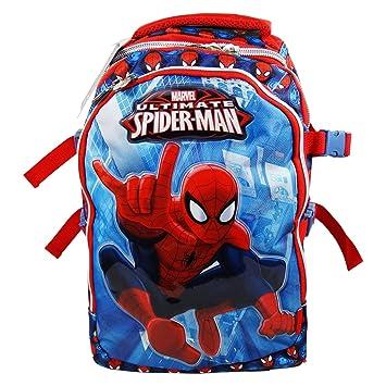 DC Comics Spiderman Power Mochila Convertible en Trolley con Ruedas Bolso Escolar Nina Chicas Moda