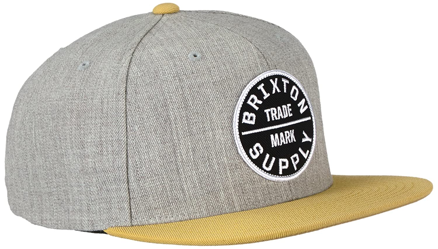Brixton Mens Oath Iii Medium Profile Adjustable Snapback Hat