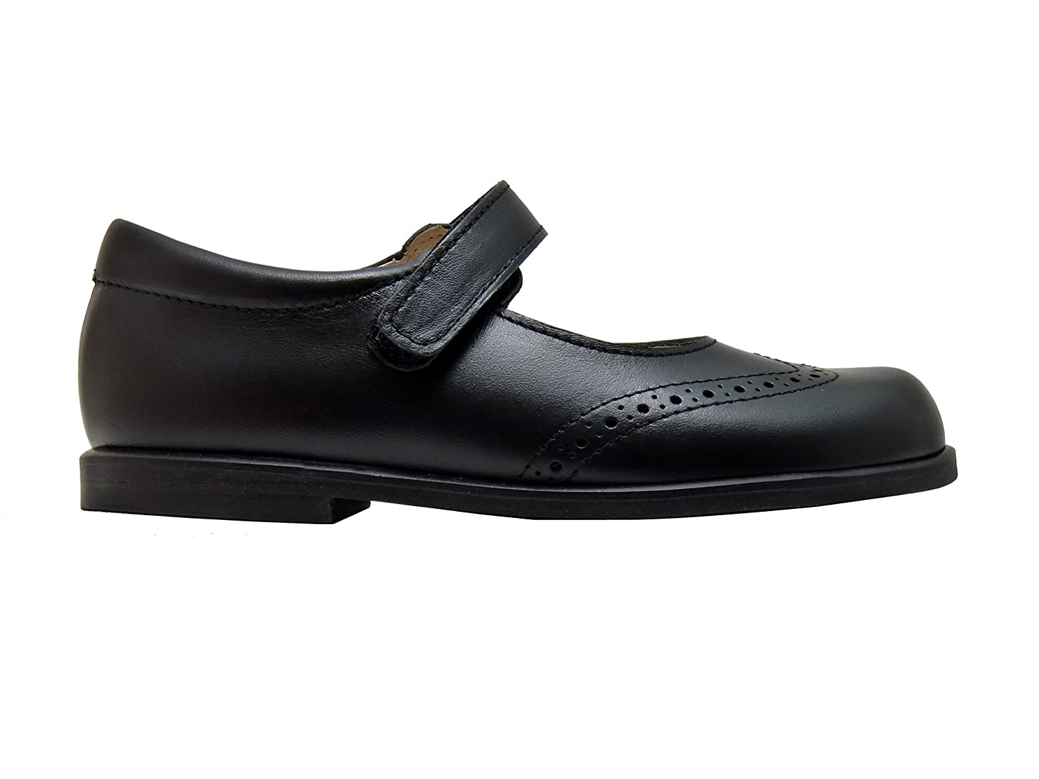 Di Angels Christy Black Leather School Shoes Mary Jane Size 6 Talla 23:  Amazon.co.uk: Shoes & Bags