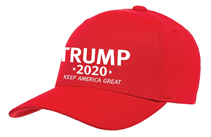 Amazon.com  Political Trump 2020 Keep America Great Embroidered Baseball Hat-Red   Clothing 6d79407a34af