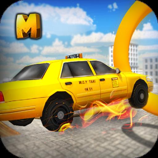 Taxi Crazy Stunts Simulator 3D (Crazy Cabbie)