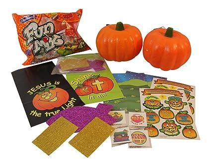 christian childrens halloween bundle 2 5 carvable pumpkins 2 christian pumpkin sticker