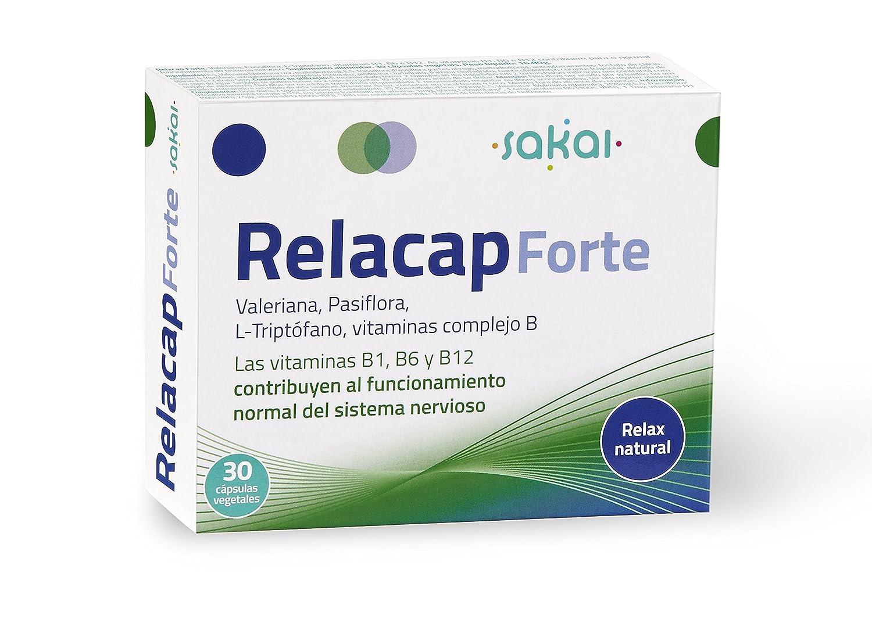Sakai Relacap Forte Complemento Alimenticio - 2 Paquetes de 30 Cápsulas: Amazon.es: Salud y cuidado personal