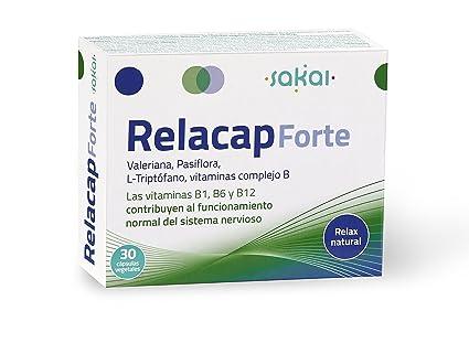 Sakai Relacap Forte Complemento Alimenticio - 2 Paquetes de 30 Cápsulas
